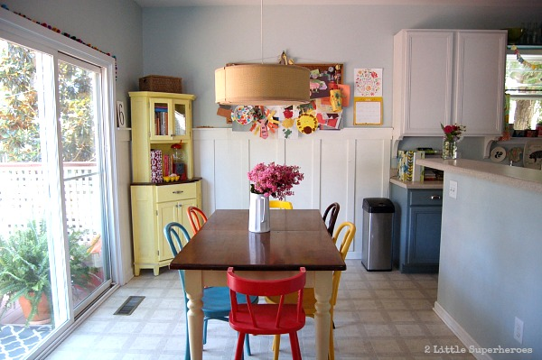 dining room.jpg Eat in Kitchen Makeover