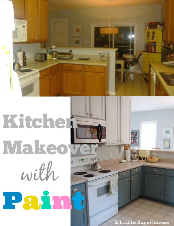 painted kitchen makeover.jpg Painted Kitchen Makeover