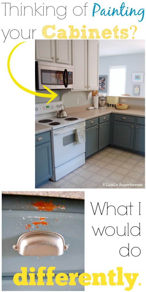 Painting Your Kitchen Cabinets What I Would Do Differently 2 Little Supeheroes