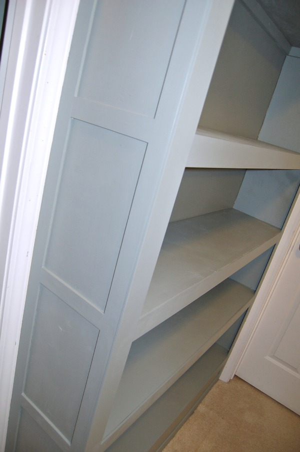 built in bookcase tutorial Built In Bookcase Tutorial