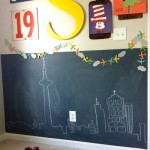 kids bedroom chalkboard wall PROJECT GALLERY