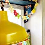 mini fabric bunting PROJECT GALLE
