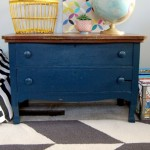 painted blue dresser PROJECT GALLERY