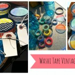 washi tape vintage mason jars PROJECT GALLERY