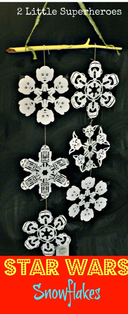 pintereststarwars 420x1024 May the Christmas Force Be With You: Star Wars Snowflakes