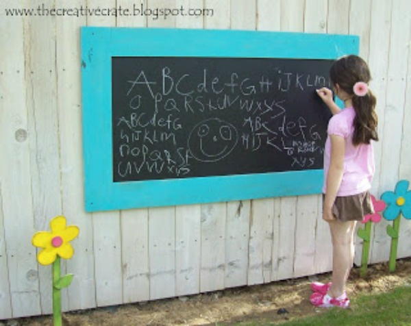 Outdoor Chalkboard Inspiration