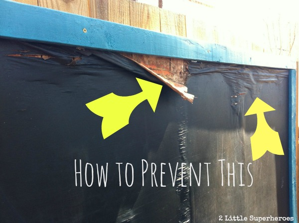 How To Prevent Your Outdoor Chalkboard From Rotting