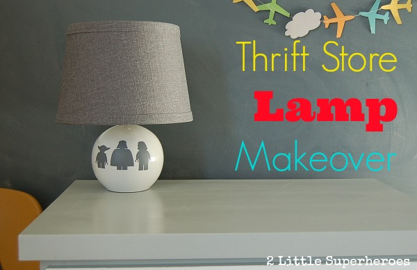 thrift store lamp makeover Thrift Store Lamp Makeover